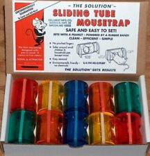 The Sliding Tube Mousetrap,   Patented!   Featured on Youtube! Box of 10 Traps