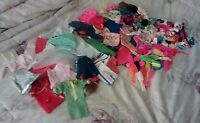 Large lot 100+ vintage & modern mostly tagged Barbie doll clothing + accessories