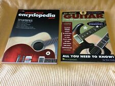 All About Guitar & Picture Chord Encyclopedia Guitar Books GENTLY USED