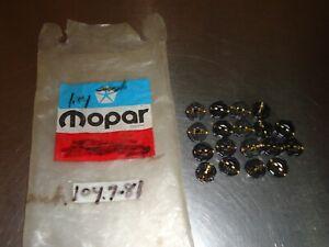 18) New NOS Mopar Instrument Gauge Cluster Socket Chrysler Dodge Plymouth