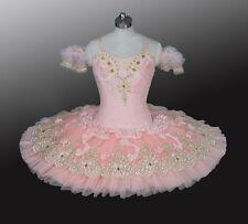 Professional Peach Pink Lace Platter Tutu Aurora Variation Custom Fit MTO YAGP