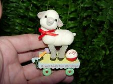 1984 Grandchild'S 1St Christmas Hallmark ornament -lamb