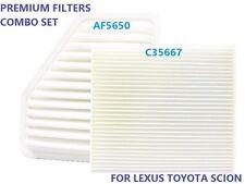 AIR FILTER CABIN AIR FILTER AF5650 C35667 CA10169 CF10285 For LEXUS TOYOTA SCION