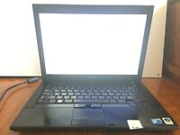 Dell Latitude E6400 Intel core 2 Duo P8700 2.56GHz 2GB - No HDD, OS, Batt. - Em