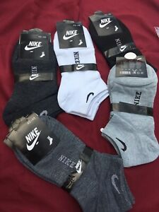 Nike Men's Ankle Socks-  10 Pairs Size 7-11