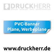 3m x 1m großes SCHILD BANNER PLANE für AUTOMARKT AUTOHANDEL selbst gestalten