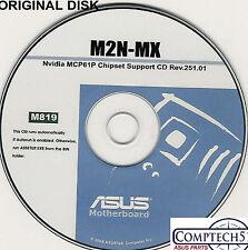 ASUS GENUINE VINTAGE ORIGINAL DISK FOR M2N-MX Motherboard Drivers Disk M819