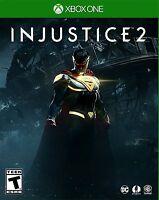 Injustice 2 (Microsoft Xbox One, 2017) BRAND NEW / Region Free