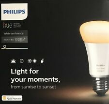 Philips Hue White and Color Ambiance E27 LED A19 Lampe 9,5 W Bluetooth
