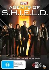 Marvel's Agents Of S.H.I.E.L.D Season 1 (DVD, 2014, 6-Disc Set)