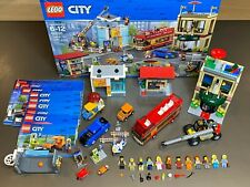 LEGO Capital City 60200 - Hotel Museum Crane Tour Bus Electric Car 100% Complete