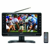 """Supersonic 9"""" Portable Widescreen LCD TV w/ Digital TV Tuner & 720p Resolution"""