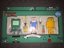 NIP ADVENTURE TIME COLLECTOR'S PIXEL PACK FINN JAKE BMO FIGURES I SHIP EVERYDAY
