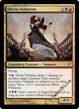 FOIL Olivia Voldaren - Gold Innistrad Mtg Magic Mythic Rare