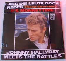 JOHNNY HALLYDAY MEETS THE RATTLES  (CD Single) LASS DIE LEUTE DOCH   NEUF SCELLE