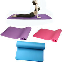 New 10mm Thick Durable Yoga Mat Non-slip Exercise Fitness Pad Mat Lose Weight