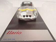 Ferrari GTO in Silver w/Yellow stripe across the hood by Ilario in France