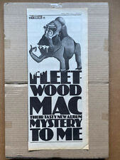 FLEETWOOD MAC 1973 MYSTERY TO ME A3 ART PRINT POSTER YF5191