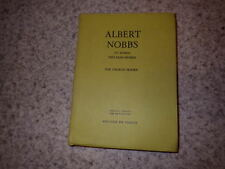1971.Albert Nobbs et autres vies sans hymen.George Moore
