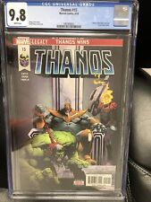 THANOS #15 CGC 9.8 White Cosmic Ghost Rider Revealed 1st Fallen One Frank castle