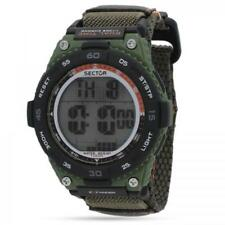 SECTOR EX 02 Orologio Uomo digitale R3251594001 CHRONO Verde dual time militare
