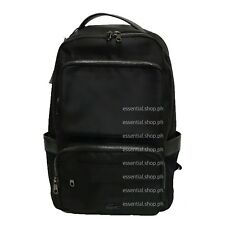 BNEW Lacoste Pete Gusseted Nylon Lightweight Backpack - Black COD/Credit Card