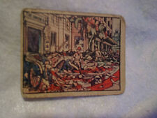 1938 HORRORS OF WAR #28 TRADING CARD,Non-Sport,shanghai shoppers blown up bomb