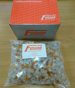 Fusion Telecom Jelly Crimp Connectors Box 500 Scotchlok Gel Filled IDC Wire Join