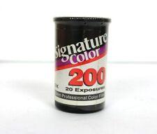 Signature Color 200 35MM Film 20 Exposures New Unopened