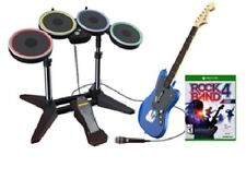 Rock Band Rivals (4) bundle Xbox One -Includes: The Complete Band. New + Code!!!