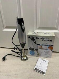 Hamilton Beach Hand Blender 59762 Immersion Multi Tool 2 Speed 225 Watt Motor