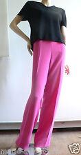 Pantalon habillé cocktail rose Fuchsia taille 50 pour mariages cérémonie val220€