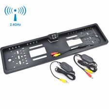 Funk HD Rückfahrkamera IR Nachtsicht Nummernschild Auto Kennzeichenhalterung