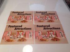 KFC Kentucky Fried Chicken advertising cards