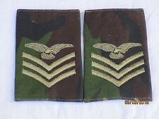 Distintivo di grado: Sergente Equipaggio aereo,DPM ,Royal Aeronautica,RAF,