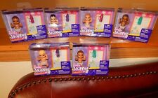 Barbie Skipper Babysitters Inc Baby COMPLETE SET of 6 NEW $34.99 FREE Ship!