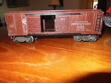 Lionel 2458 Brown Automobile Car with Flying Shoe Couplers