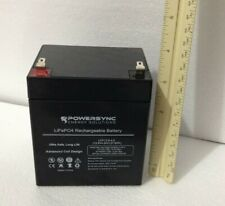 PowerSync LiFePO4 12V 4.5ah Battery Lithium