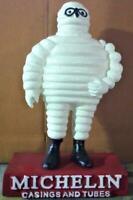Cast Iron Michelin Man Bibendum Collectable Mascot - Hand Painted - 30cm