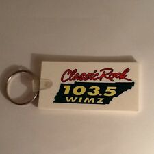 103.5 WIMZ Knoxville Tennessee Classic Rock Radio Station Promo Rubber Keychain