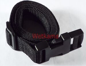 2 Rucksack Compression Straps 20 mm Webbing Side Release Buckle Belts UK Made