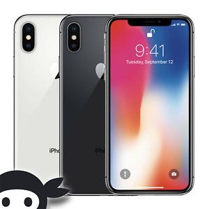 Apple  iPhone X 64GB Verizon TMobile AT&T UNLOCKED A1865