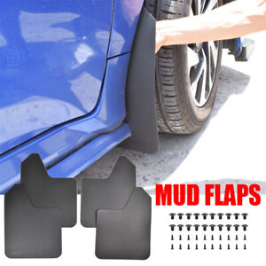 XUKEY Rally Mud Flaps Mudflaps Splash Guards For Mazda Peugeot All Models 1 Set