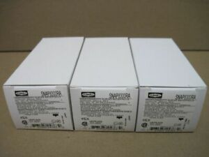 Hubbell SNAP8300RA Red SnapConnect Duplex Receptacle 20A Nema5-20R (LOT OF 3)