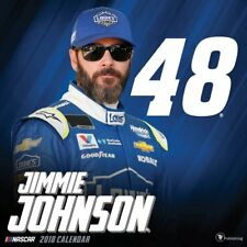 JIMMIE JOHNSON - 2018 WALL CALENDAR - BRAND NEW - NASCAR 750833
