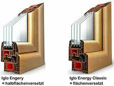 Drutex Iglo Energy Kunststoffenster 1flg Farbe weiß 3-fach Glas Fenster