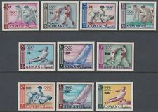 Ajman 1967 ** Mi.A-K126 B Olympische Spiele Olympic Games, new currency