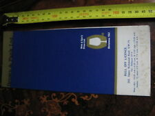Brown & Plank wine & Spirit Price List 1962