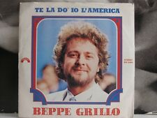 Beppe Grillo - You do I America 45 RPM 7""
