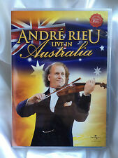 ANDRE RIEU ~ LIVE IN AUSTRALIA ~ AS NEW DVD ~ PAL REGION